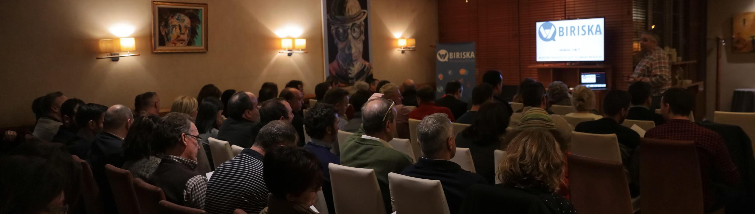 Acto de presentación de Biriska.com en Lugo