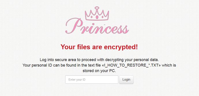 princess-ransomware-distribuido