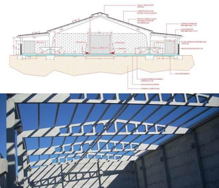 Plano edificacion industrial indesnor lugo