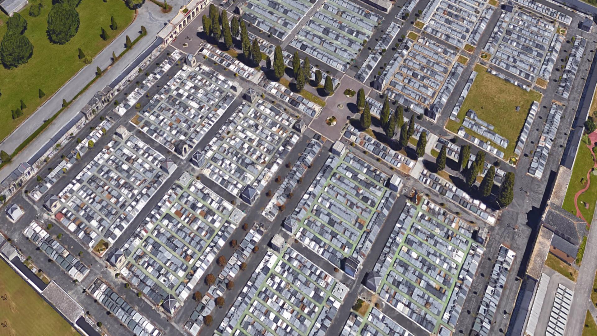Según National Geographic Lugo tiene uno de los cementerios más bonitos del mundo.1920