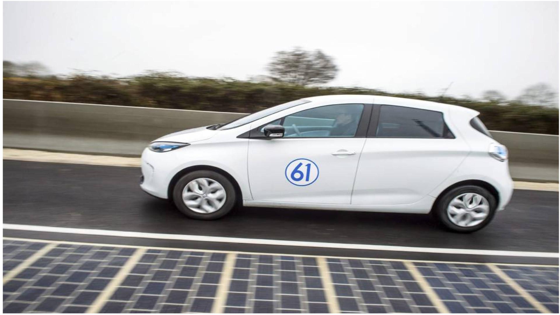 Francia tiene la primera carretera solar del mundo.1920