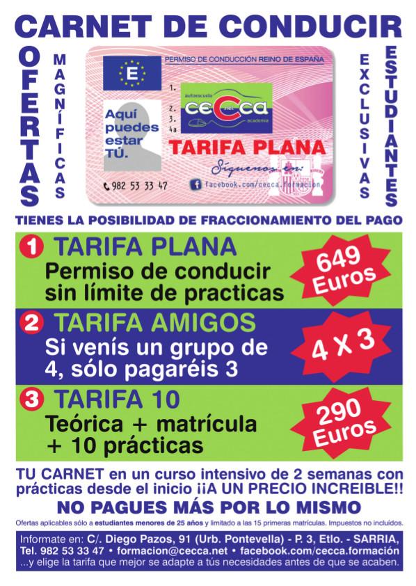 cartel-tarifas-carnet-conducir