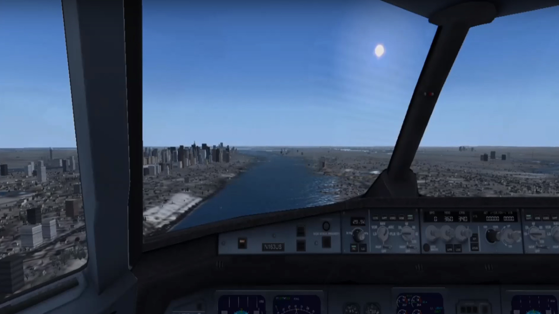 atencion el vuelo 1549 esta fuera de control