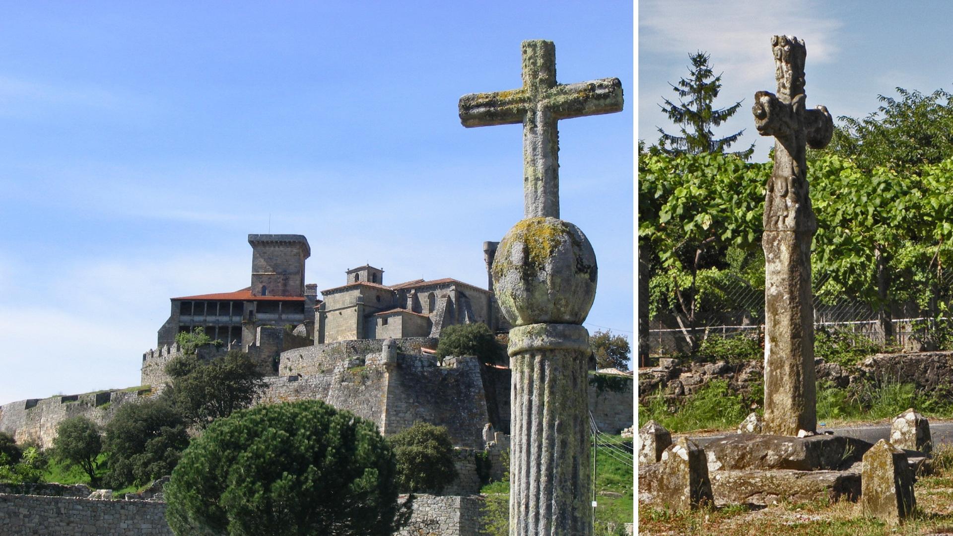 Los cruceiros, monumentos característicos de Galicia.1920