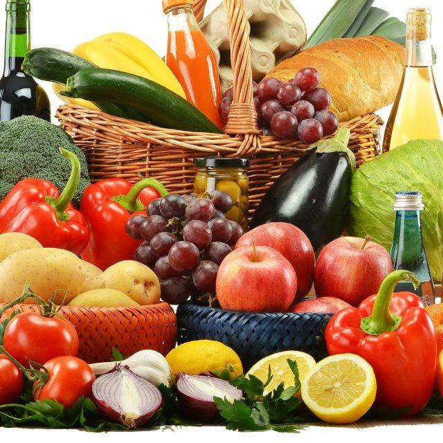 La temporada alta de frutas y verduras por estaciones