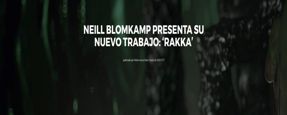 Neill Blomkamp presenta su nuevo trabajo: 'Rakka'