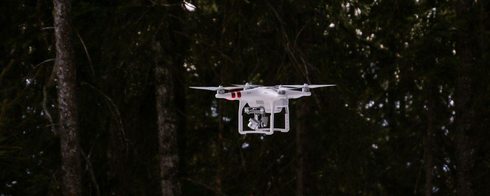 Drones para realizar el inventario forestal en Galicia
