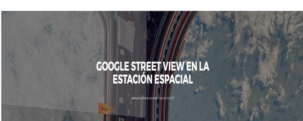 Google Street View en la Estación espacial