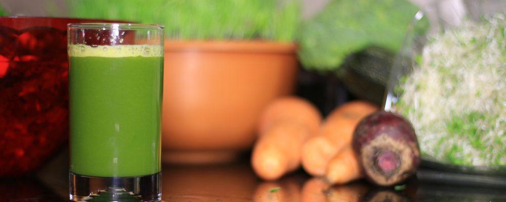 Los zumos no solo de frutas, también de verduras