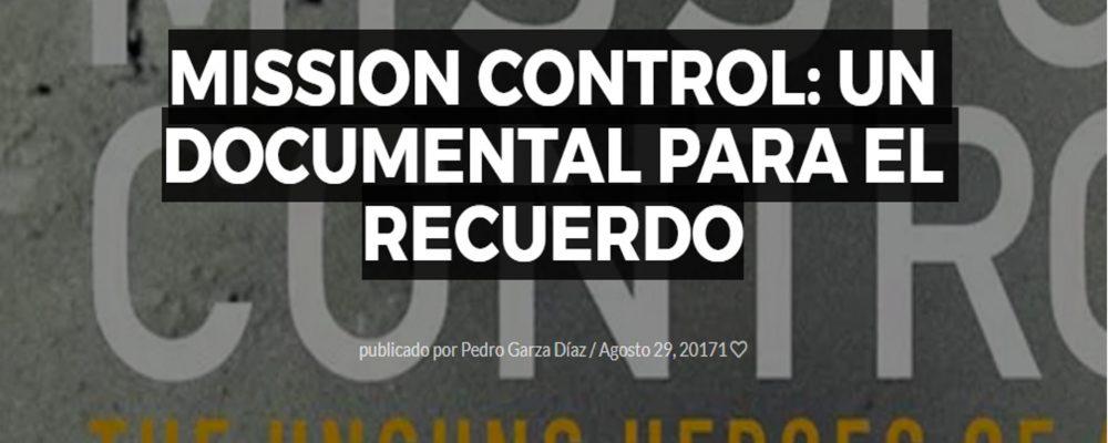Mission Control: Un documental para el recuerdo