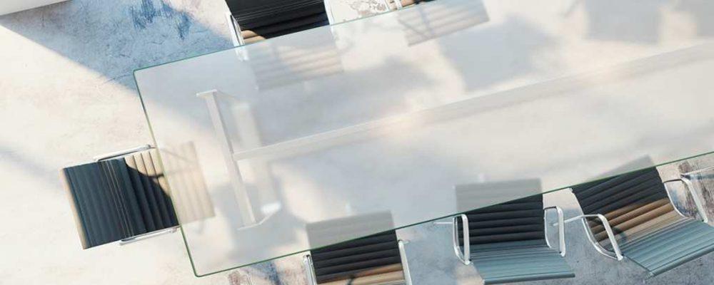 Remedio casero para proteger tus mesas de cristal con láminas