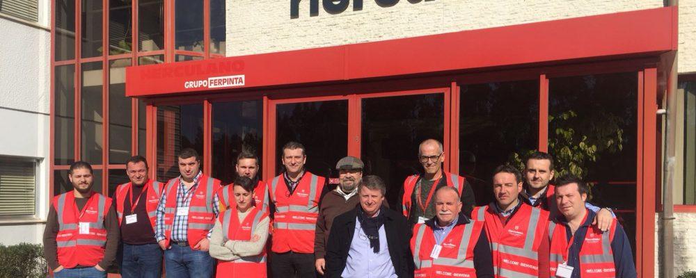 Visita a la fábrica Herculano para examinar la nueva regulación de purines