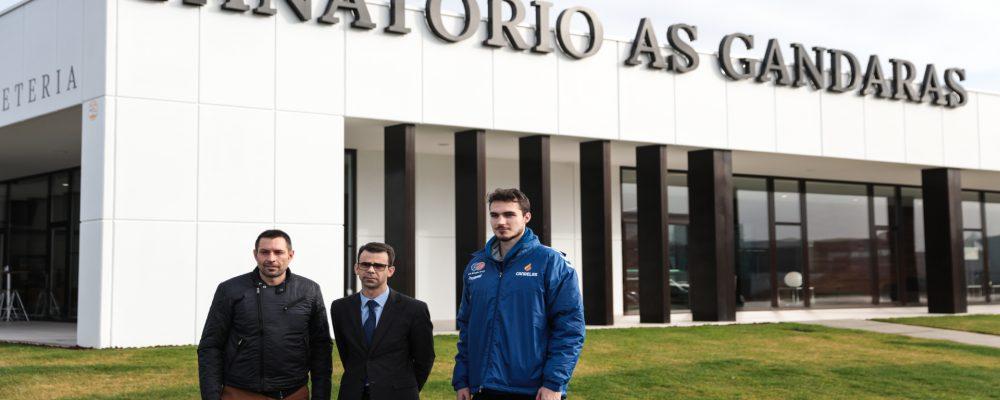 Lezkano y Leo Demetrio en la rueda de prensa celebrada en Tanatorio As Gándaras