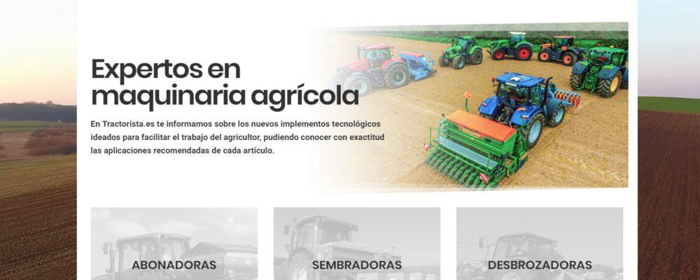 Tractorista.es: un nuevo portal especializado en maquinaria agrícola