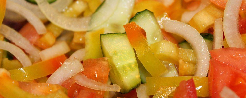 Diferentes formas de cortar verduras, frutas y hortalizas