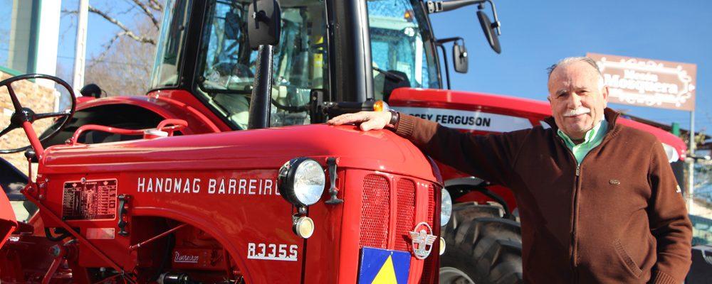Un tractor con historia