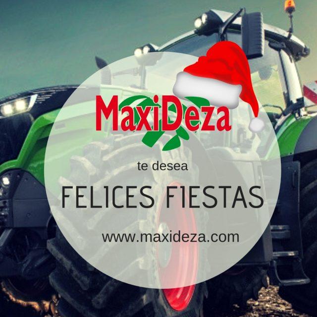 Maxideza te desea unas felices fiestas