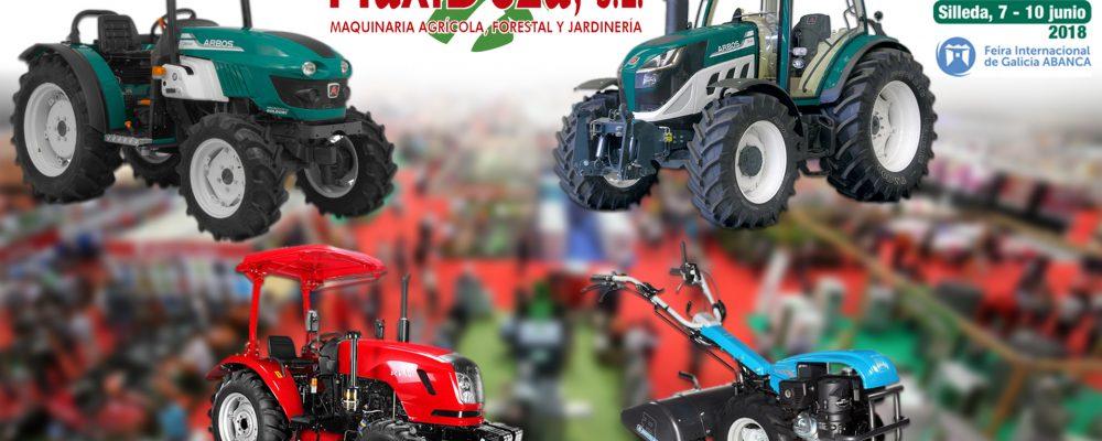 Maxideza participa en la feria Abanca Semana Verde de Silleda que se celebra del 7 al 10 de junio