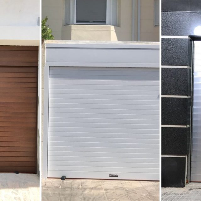 Los materiales más usados para puertas de garaje