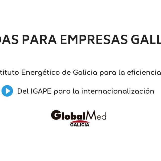 Nuevas convocatorias de ayudas para empresas gallegas