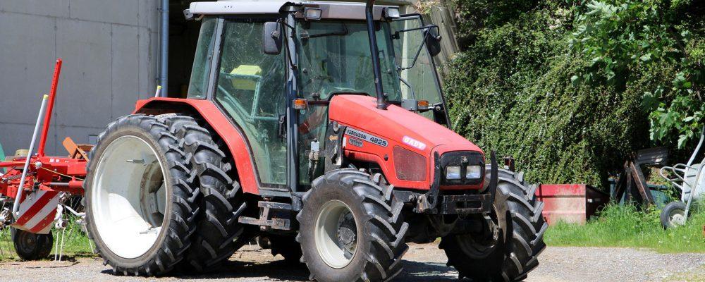 El seguro obligatorio para los vehículos agrícolas