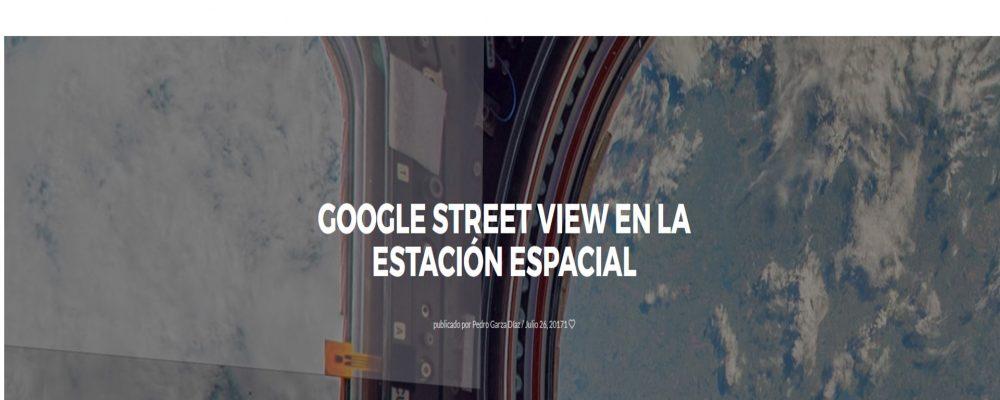 Google Street View en la Estación espacial