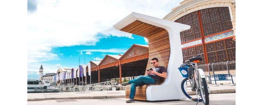 Banco solar inteligente