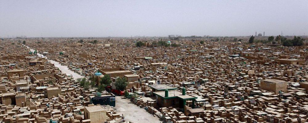 Wadi al-Salam la ciudad de los cinco millones de tumbas
