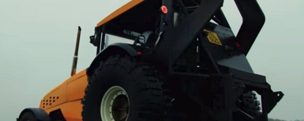 El tractor más rápido del mundo