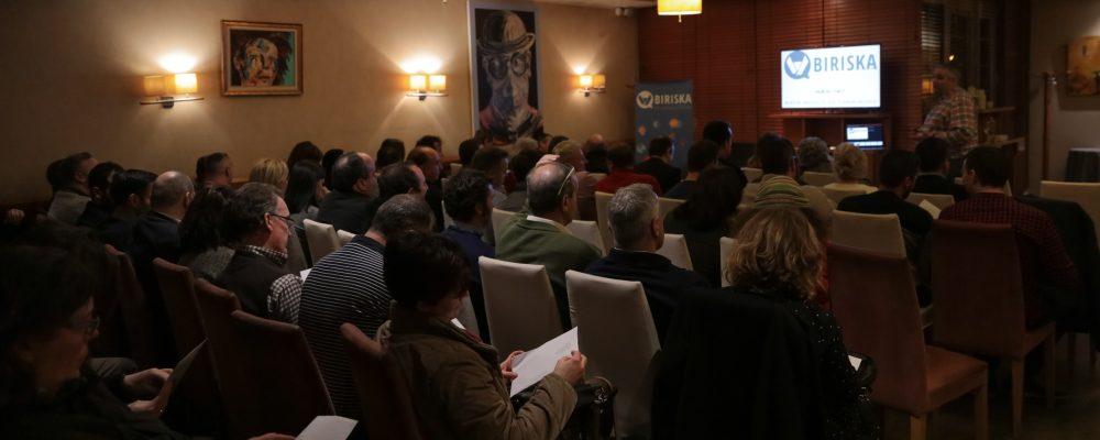 Gran acogida de Biriska por destacados empresarios lucenses en su presentación