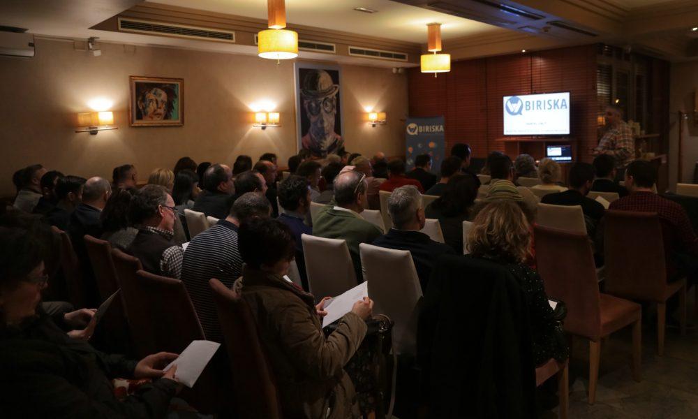 presentación biriska en Lugo empresas éticas