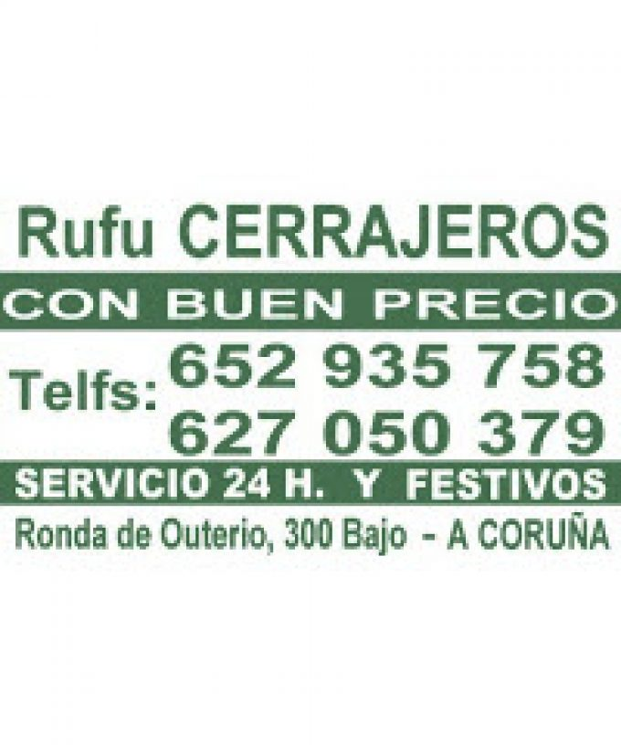 Rufu Cerrajeros S.L.