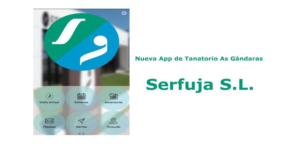Nueva app de Tanatorio As Gándaras – Serfuja S.L.