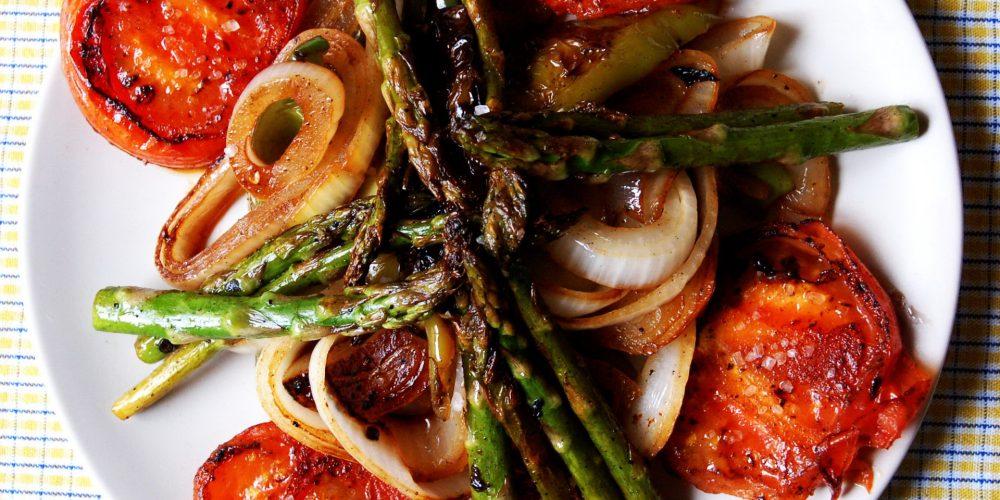 Consejos para preparar verduras a la plancha