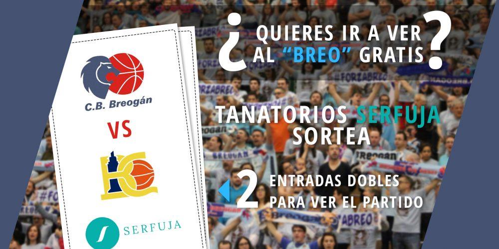 Sorteamos dos entradas dobles para ver el partido del Club Baloncesto Breogán contra Básquet Coruña