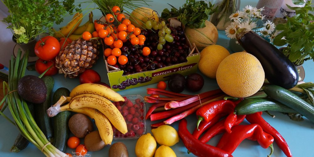 Solo 1 de cada 10 personas comen suficiente fruta y verdura