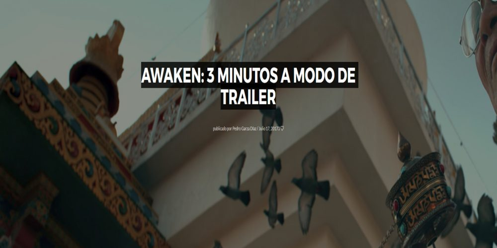 Awaken: 3 minutos a modo de trailer