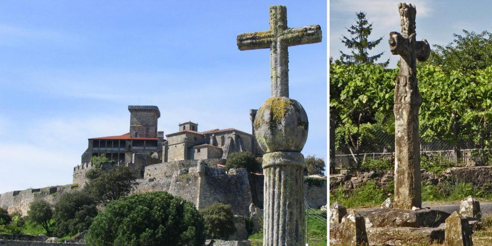 Os cruceiros, monumentos característicos de Galicia