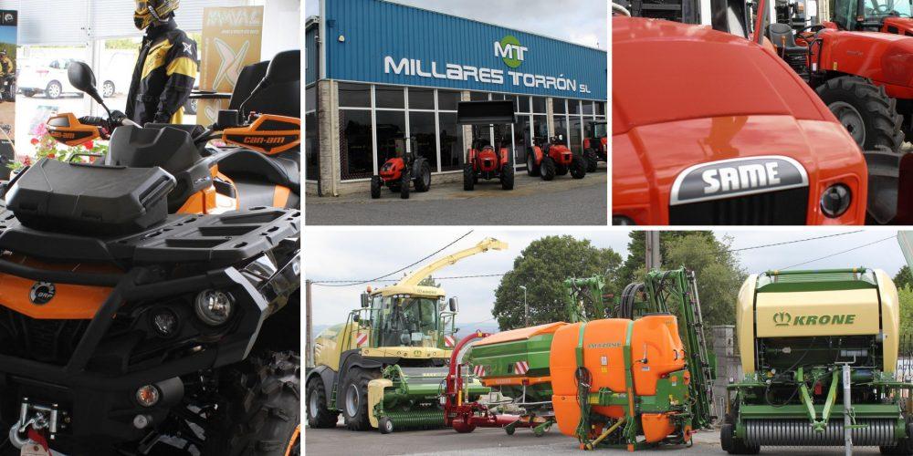Millares Torrón ofreciendo siempre la mejor maquinaria agrícola y de jardinería