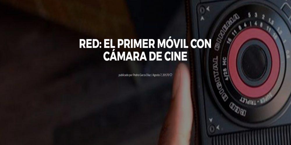 Red: El primer móvil con cámara de cine