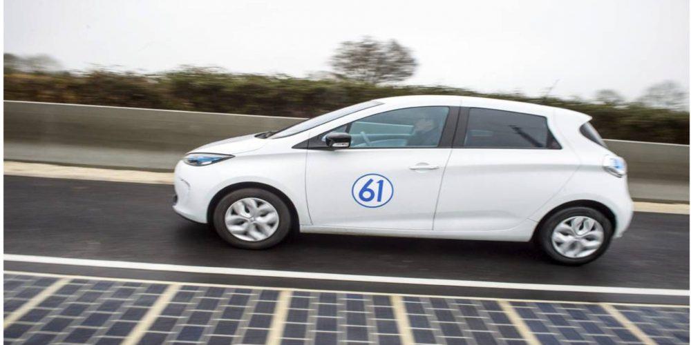 Francia tiene la primera carretera solar del mundo