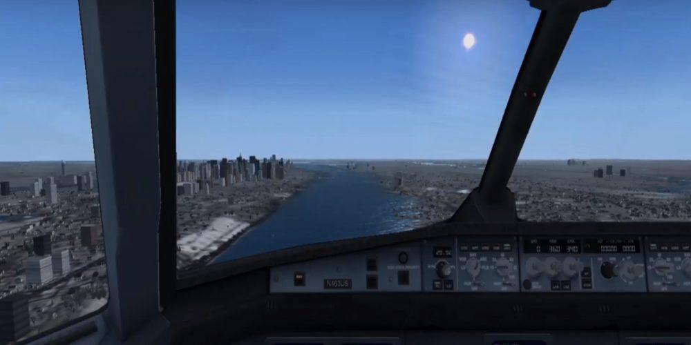¡Atención! El vuelo 1549  está fuera de control