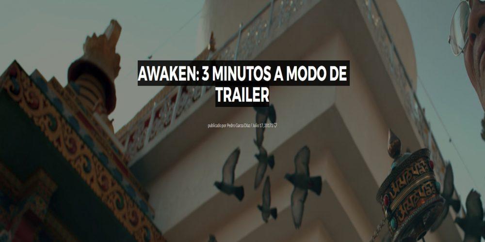 Awaken: 3 minutos a modo de trailer