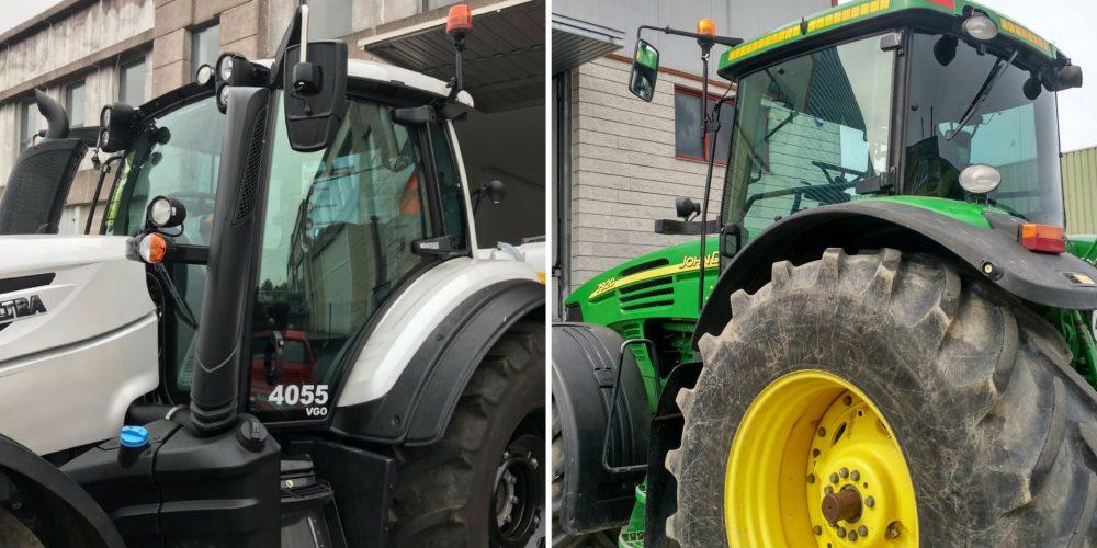 Los tractores