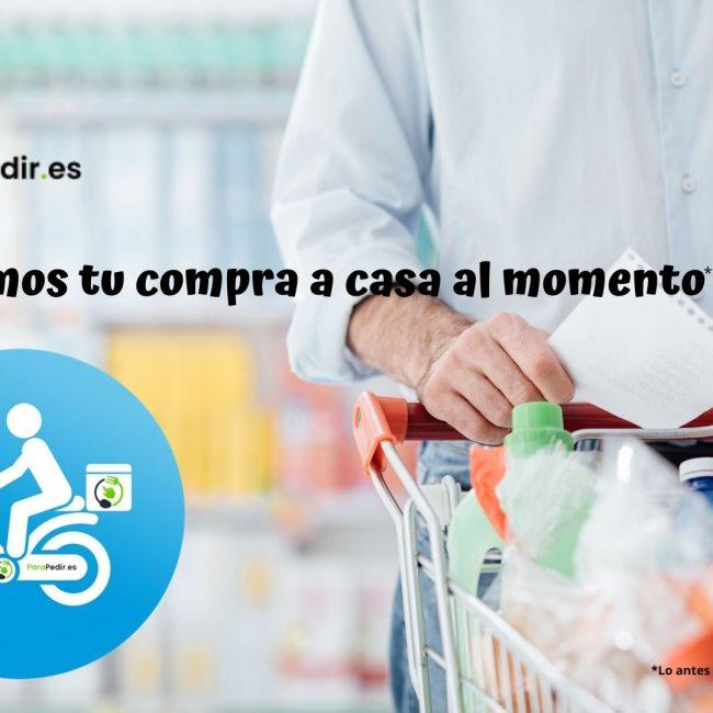 Nace el primer supermercado on line en Lugo que te lleva la compra a casa al momento