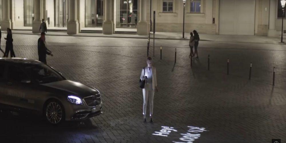 Los faros de los Mercedes llevan a la iluminación a otro nivel