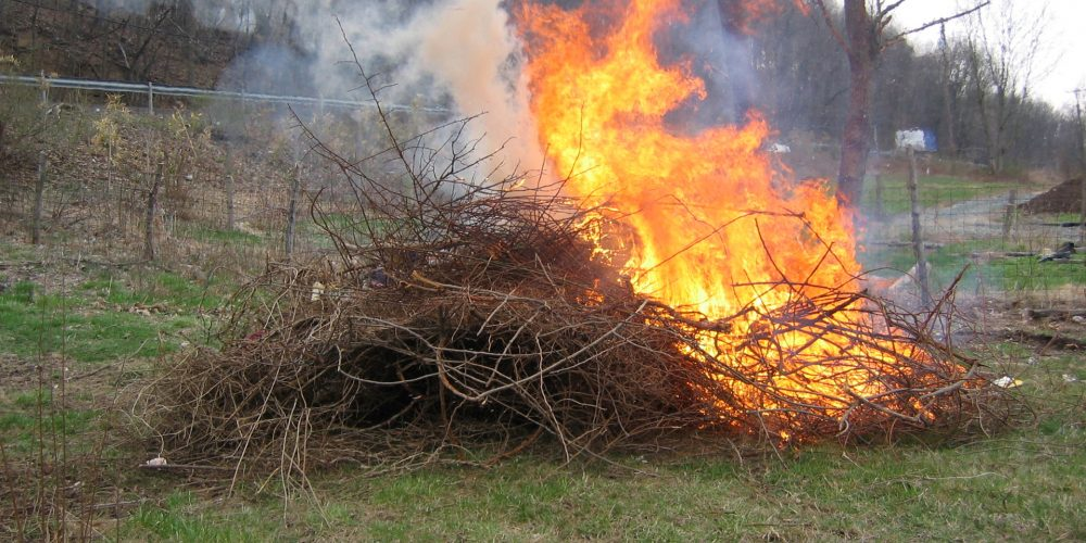 Abierto de nuevo el plazo para realizar quemas