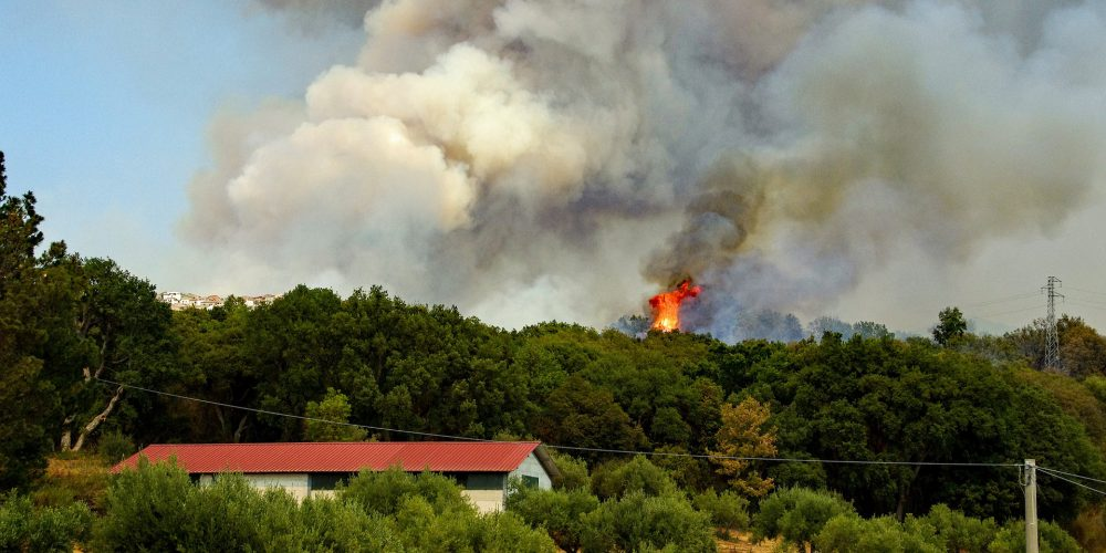 Consejos a seguir ante incendios cercanos