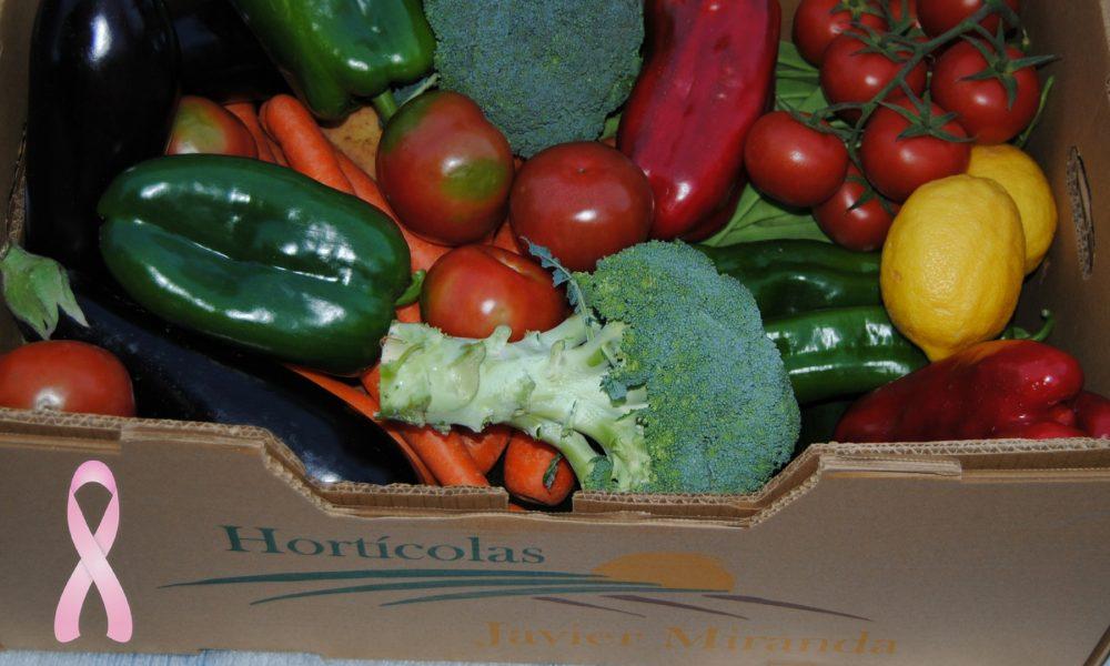 más frutas y verduras para reducir el riesgo de cancer de mama