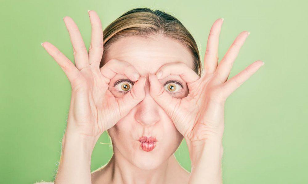 yoga facial para combatir las arrugas